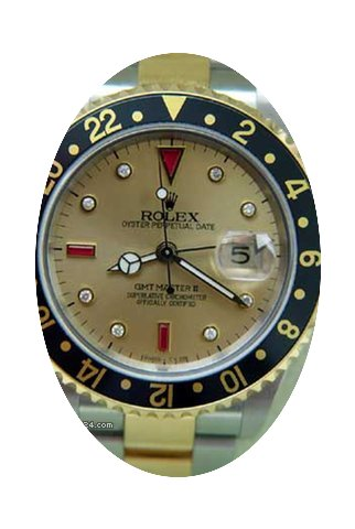 Rolex Gmt-Master II Mens Watch In Two To...