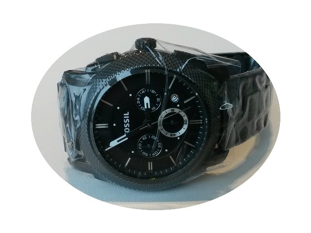 Fossil Machine Chronograph Stainless Ste...