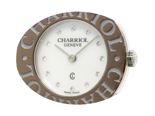 Charriol St-tropez Mop Dial Quartz Watch...