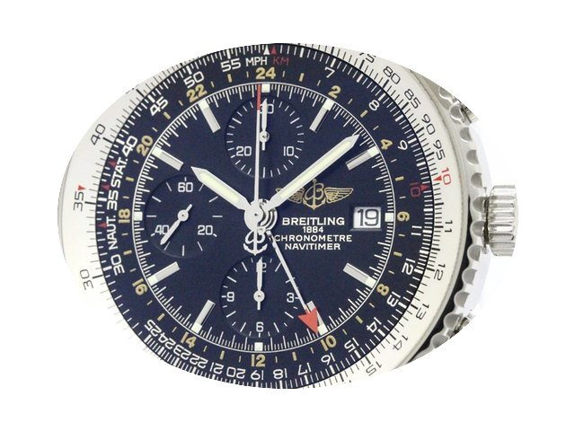 Breitling Navitimer World Steel Automati...