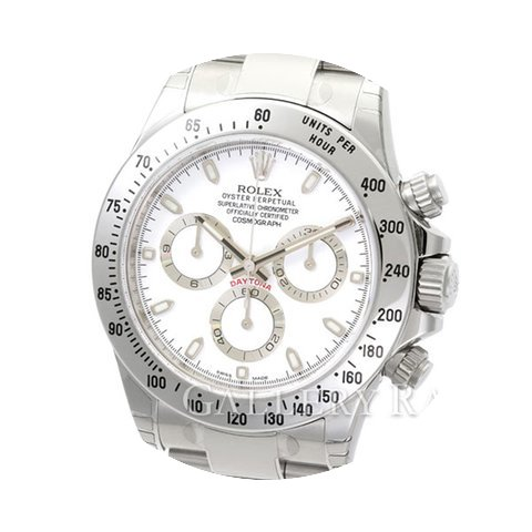Rolex Cosmograph Daytona White Dial Stee...