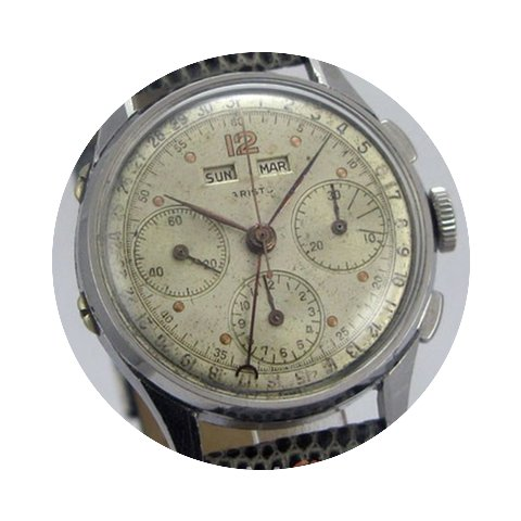 Aristo Chronographe Triple Date Mouvemen...