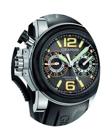 Graham Chronofighter Oversize Night Rang...