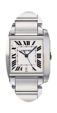 Cartier TANK FRANCAISE MEN'S STAINLESS S...