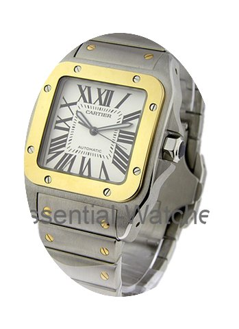 Cartier Santos 100 XL size Automatic...