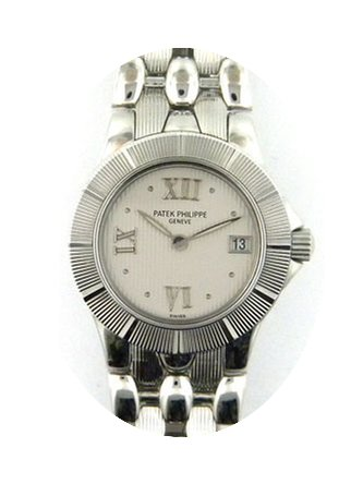 Patek Philippe stainless steel ladies Ne...