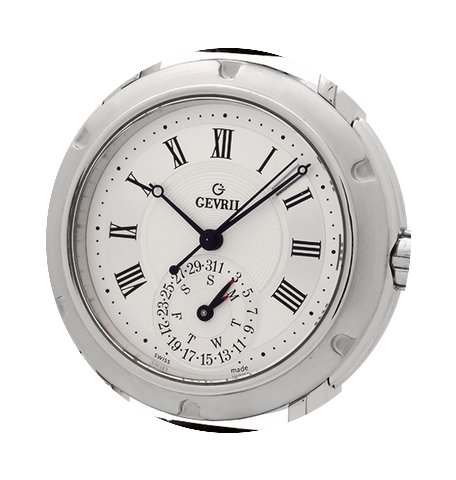 Gevril Day-Date Stainless Steel 38mm Ref...