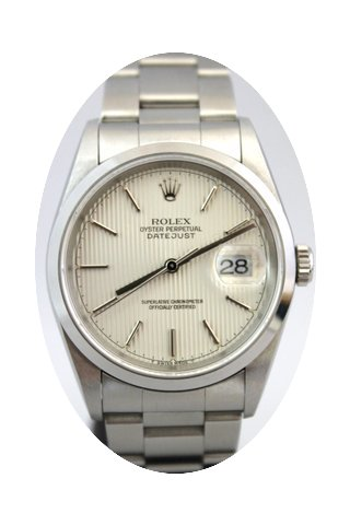 Rolex Datejust 16200 Dial Lines Never Po...