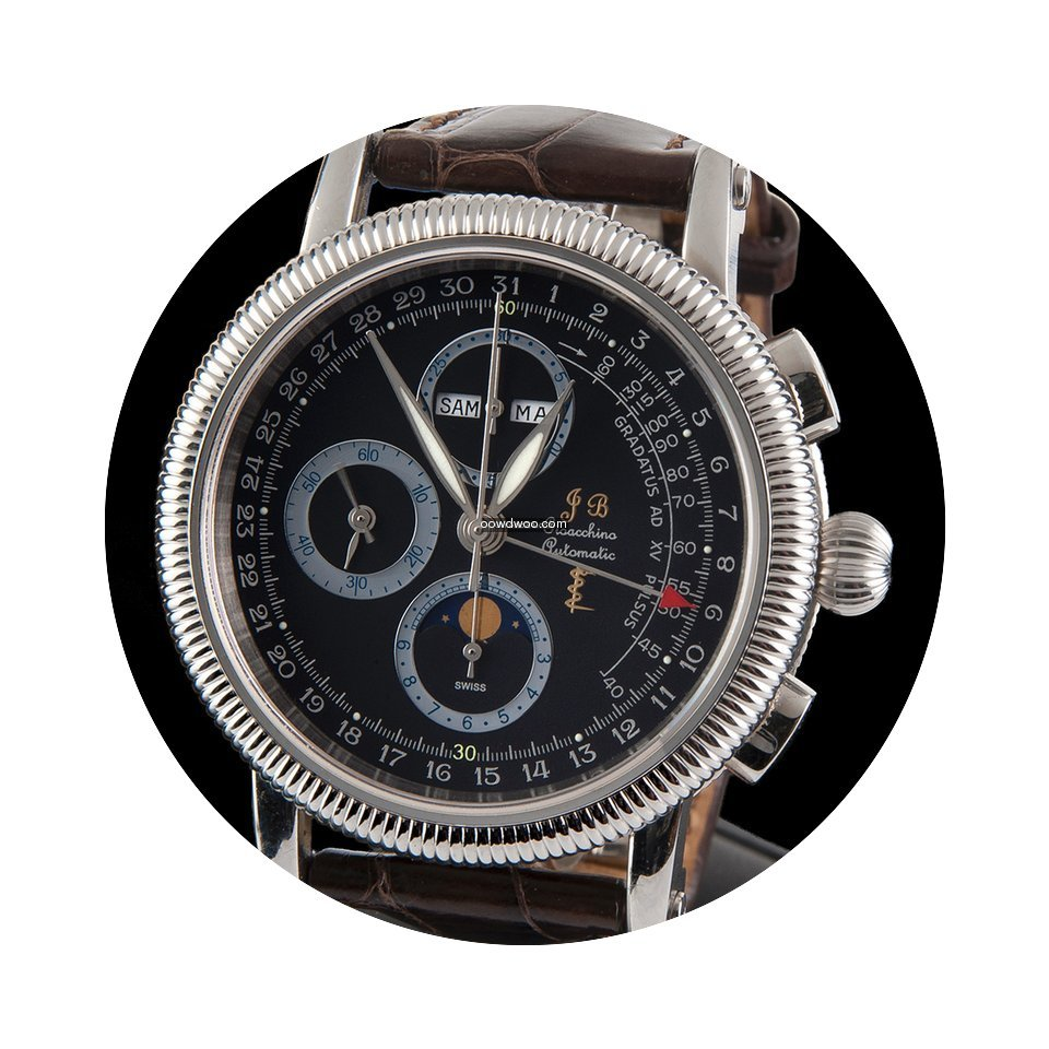 JB Gioacchino CHRONO CLASSIC MOON PHASE ...