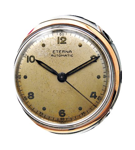 Eterna Vintage Steel & Gold...