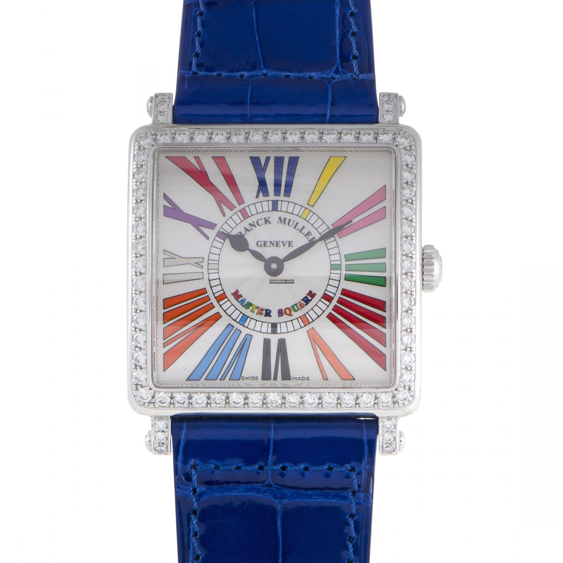 Master Square Womens Quartz Watch 6002MQ...
