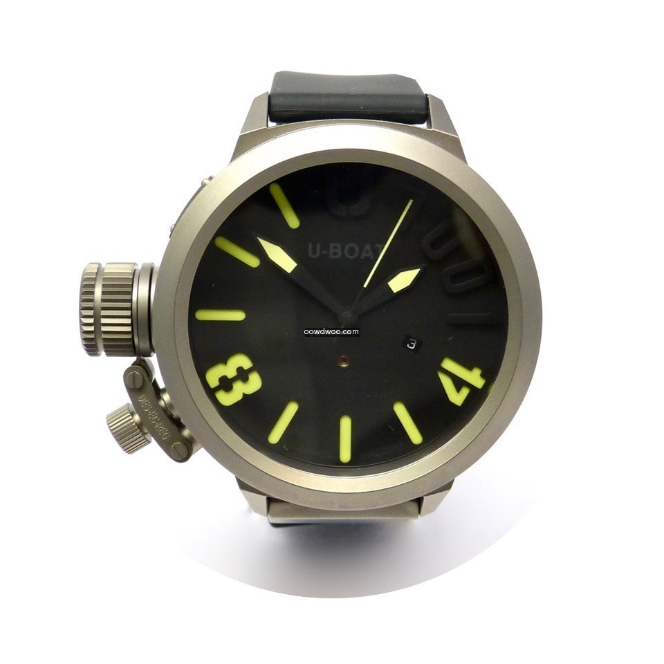 U-Boat Classico U-1001 Yellow 55mm Uboat...