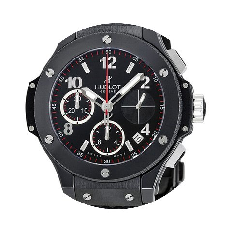 Hublot Black Magic Chronograph Titanium ...