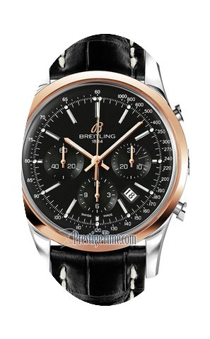 Breitling Transocean Chronograph 43mm Me...