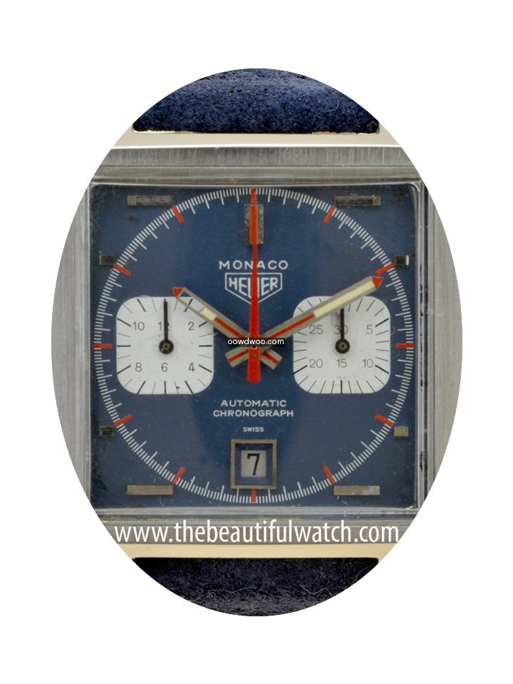 Heuer Monaco original from 1970...