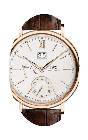 IWC Portofino Hand Wound Big Date Eight ...
