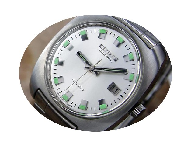 Citizen Automatic 17 Jewel Mens Vintage ...