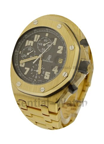 Audemars Piguet Offshore Yellow Gold on ...