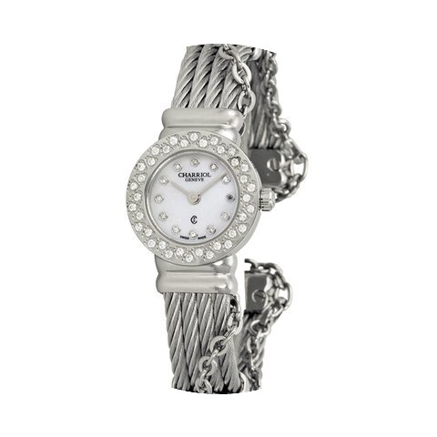 Charriol St Tropez Mother of Pearl Dial ...