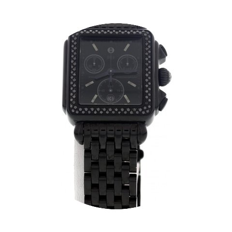 Michele Ladies Michele Deco Noir Black D...
