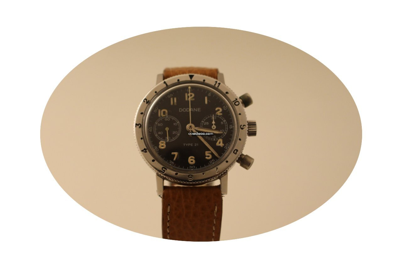 Dodane Type 21 military chronograph valj...
