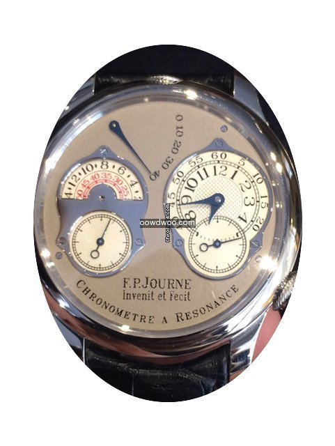 F.P.Journe Chronometre a Resonance Plati...