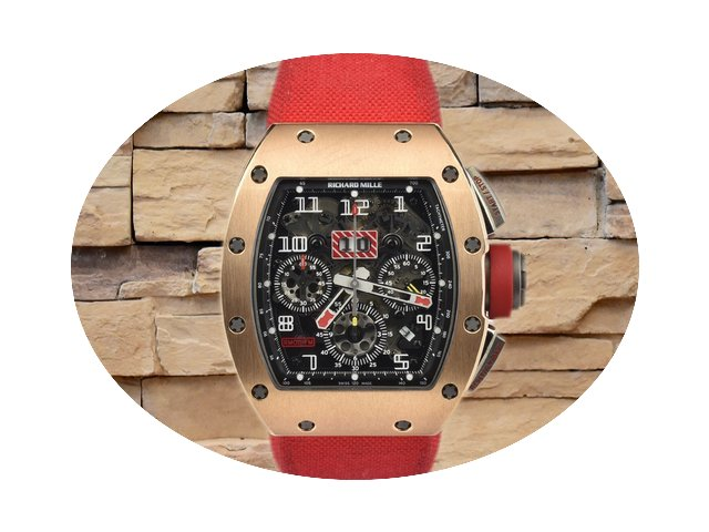 Richard Mille RM011 Americas Rose gold...