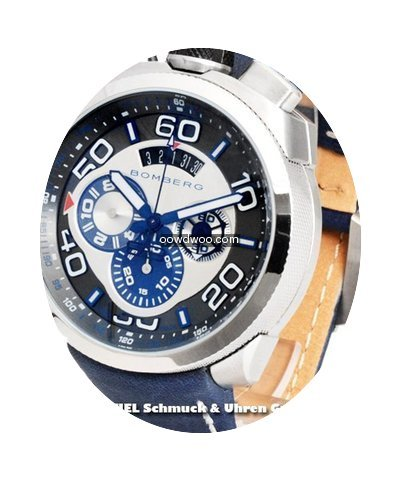 Bomberg Bolt 68 Chronorgaph Blue...