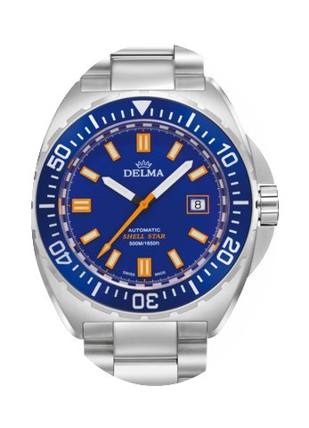 Delma Shell Star Automatic 500m...