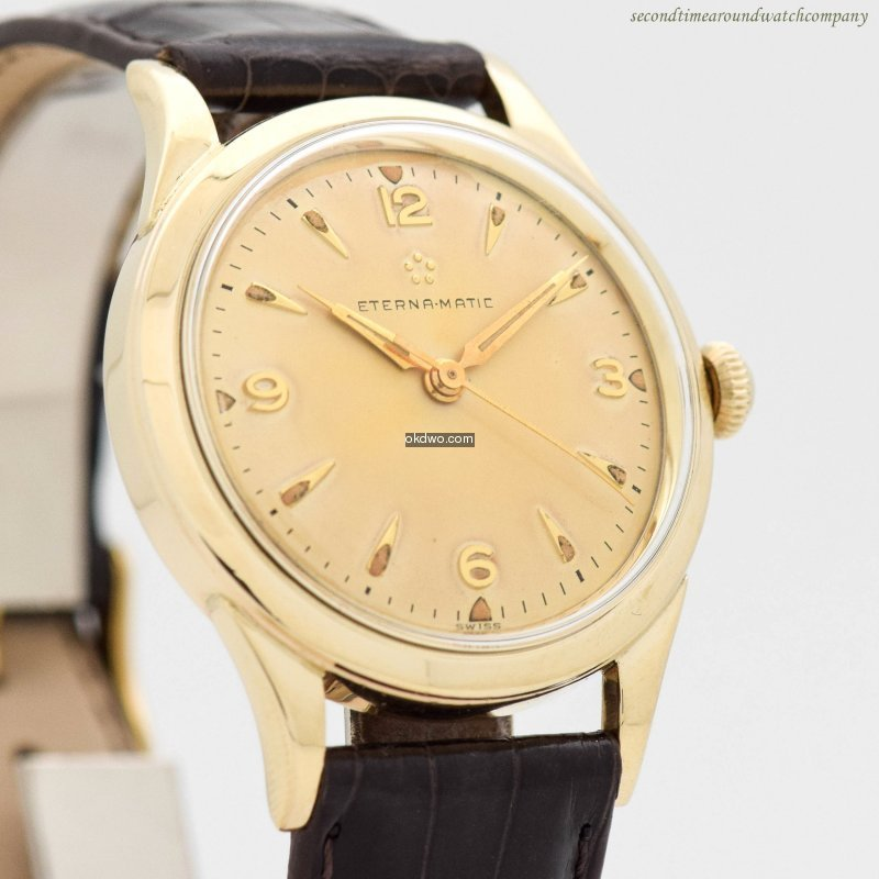 1957 Men's Vintage ETERNA Eterna-Matic 1...