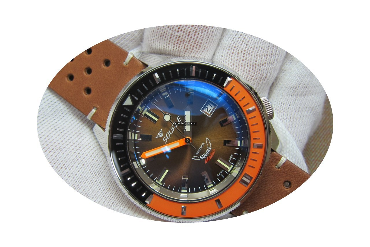 Squale SqualeMatic 600m Polished Case Ch...
