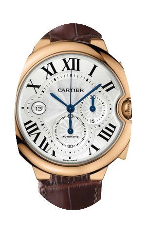 Cartier BALLON BLEU ROSE GOLD CHRONOGRAP...