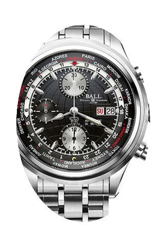 Ball Worldtime Chronograph...