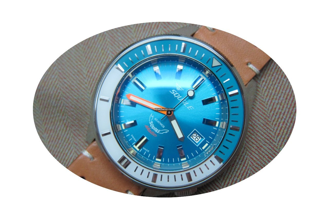Squale SqualeMatic 600m Polished Case Bl...