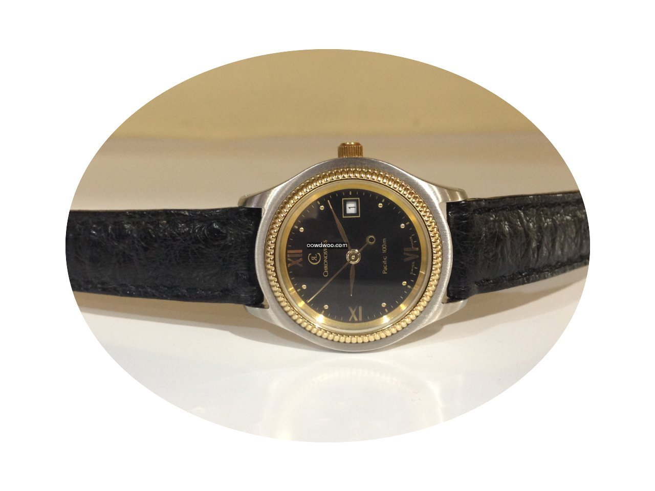 Chronoswiss Pacific steel / gold automat...